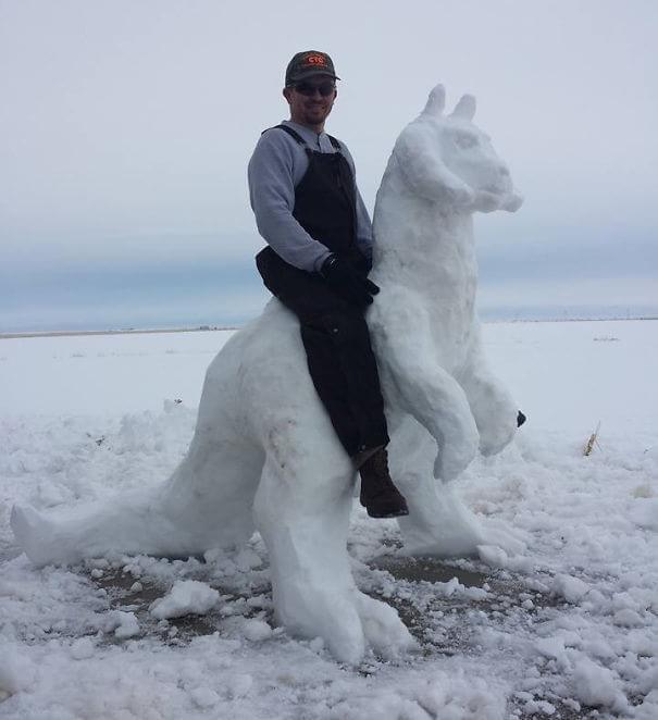 Arte gelada: confira essas 25 esculturas incríveis de neve