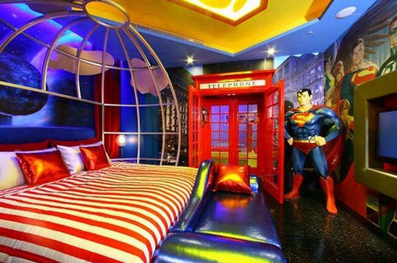 Quarto de Super-Homem