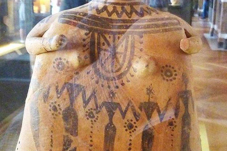 Escultura da Idade do Bronze