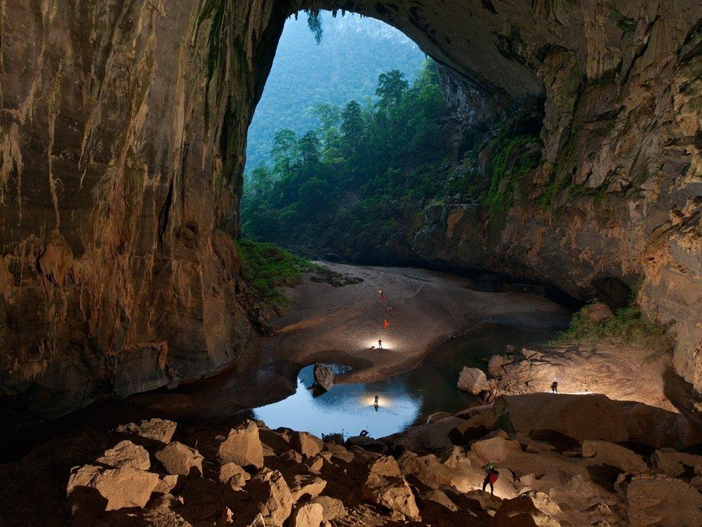 Son Doong: a maior caverna do mundo é linda e pode abrigar um arranha-céu