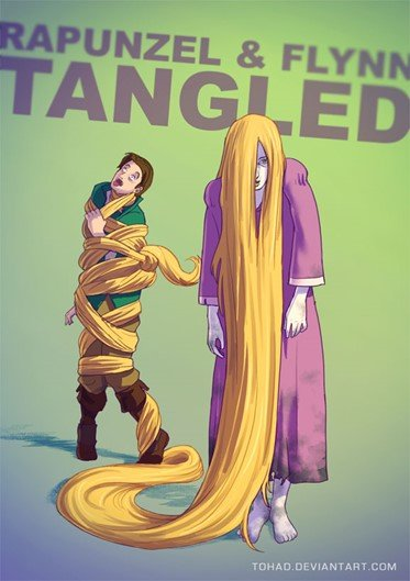 Veja os seus desenhos animados favoritos transformados para assustar