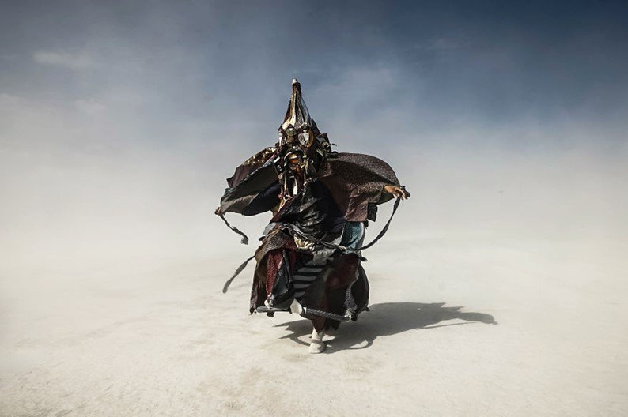 Festival Burning Man: música e magia misturadas em imagens incríveis