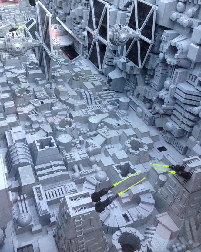 Estrela da Morte épica feita de LEGO tem cerca de 500 mil peças [vídeo]