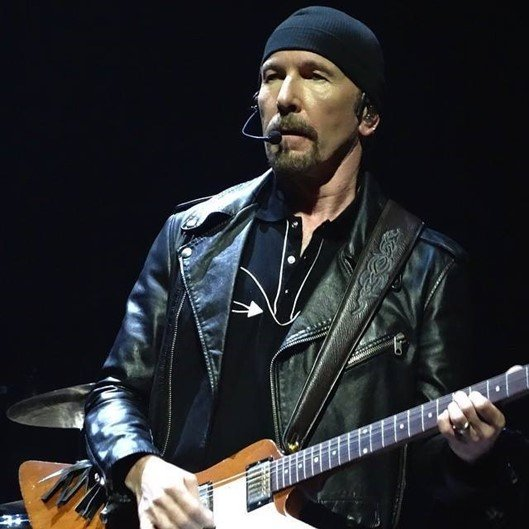 The Edge, U2 - Facebook/U2 Brasil