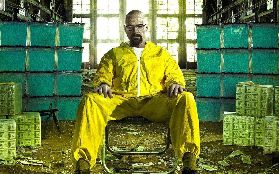 Walter White, o Heisenberg também lembra o look de gary e do músico irlandês- Breaking Bad/Divulgação