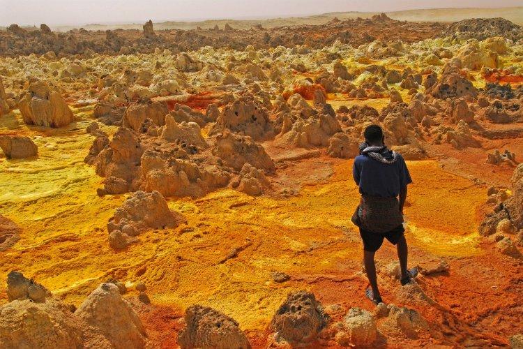 Conheça Dallol, o lugar mais quente para se viver no planeta Terra