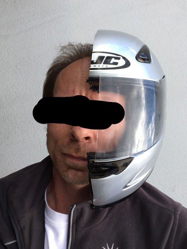 Fim de namoro: Alemão 'divide bens' cortando tudo ao meio e vende no eBay