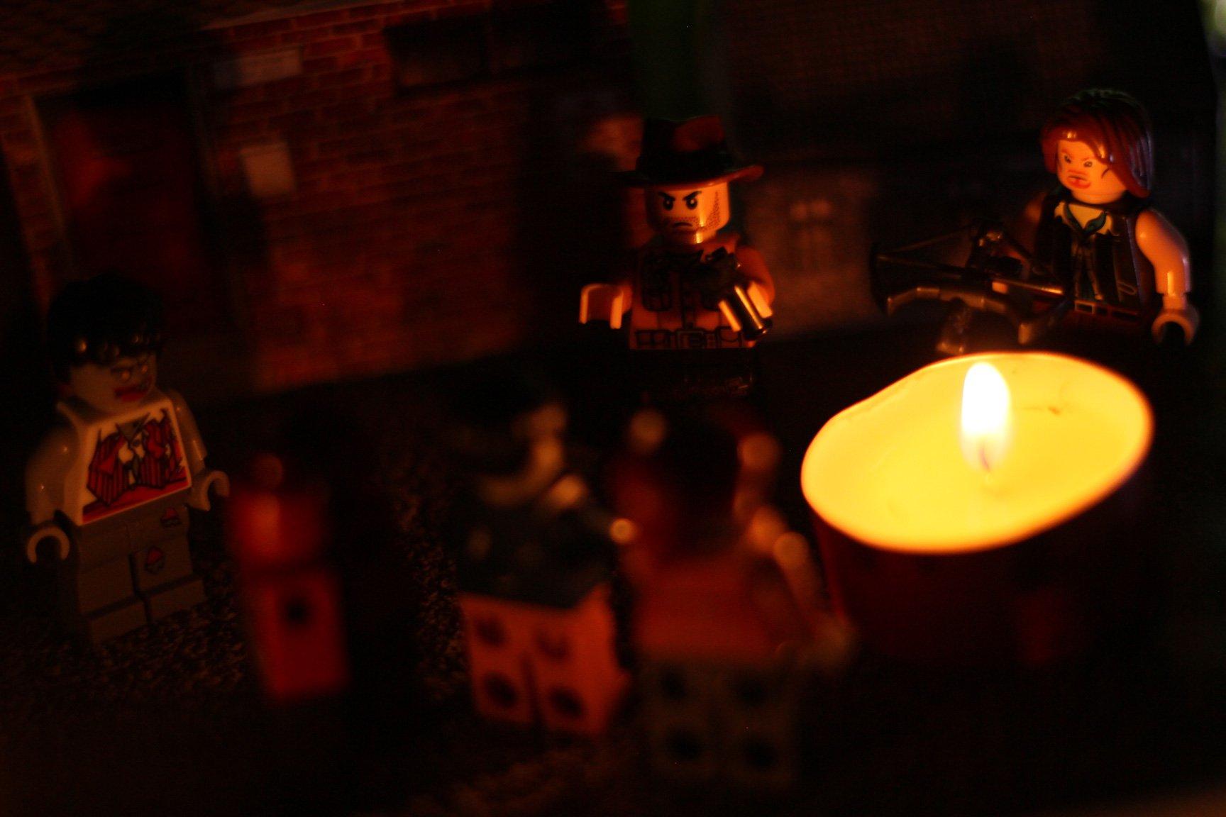 Série de fotos mostra brinquedos Lego em cenas reais