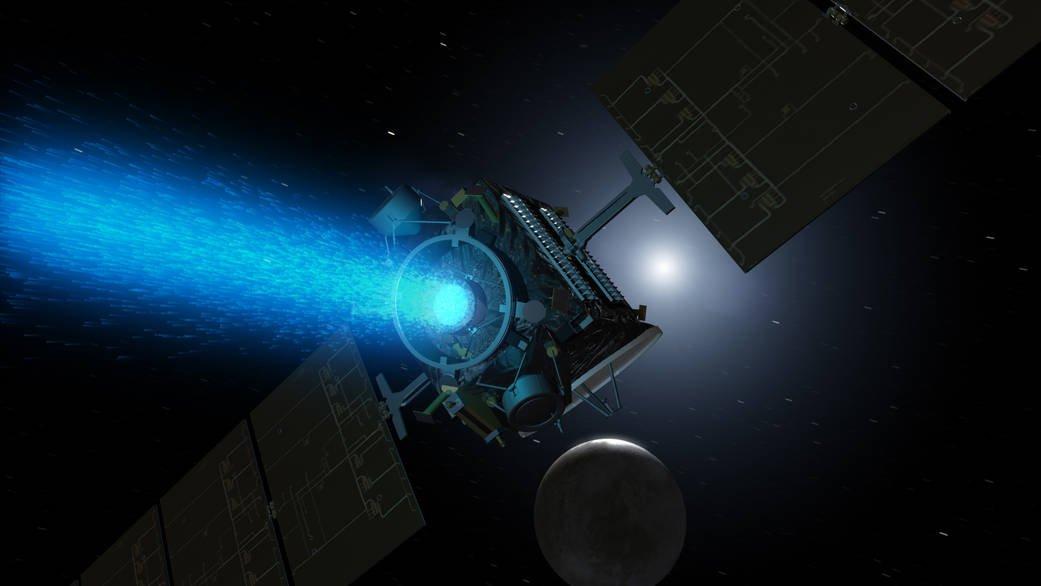A sonda Dawn