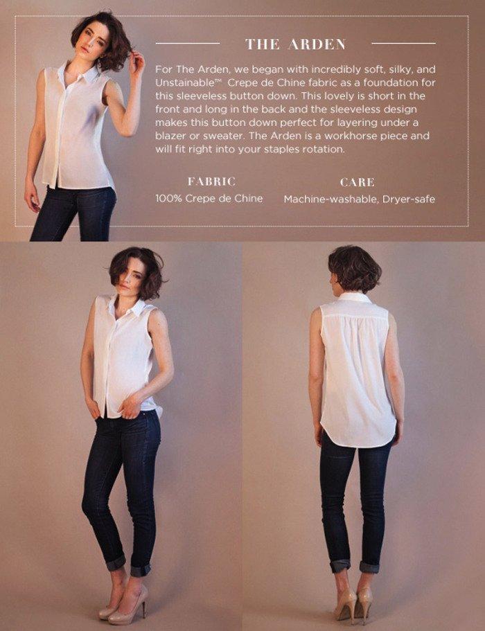 Adeus, manchas: marca lança camisas brancas de material hidrofóbico