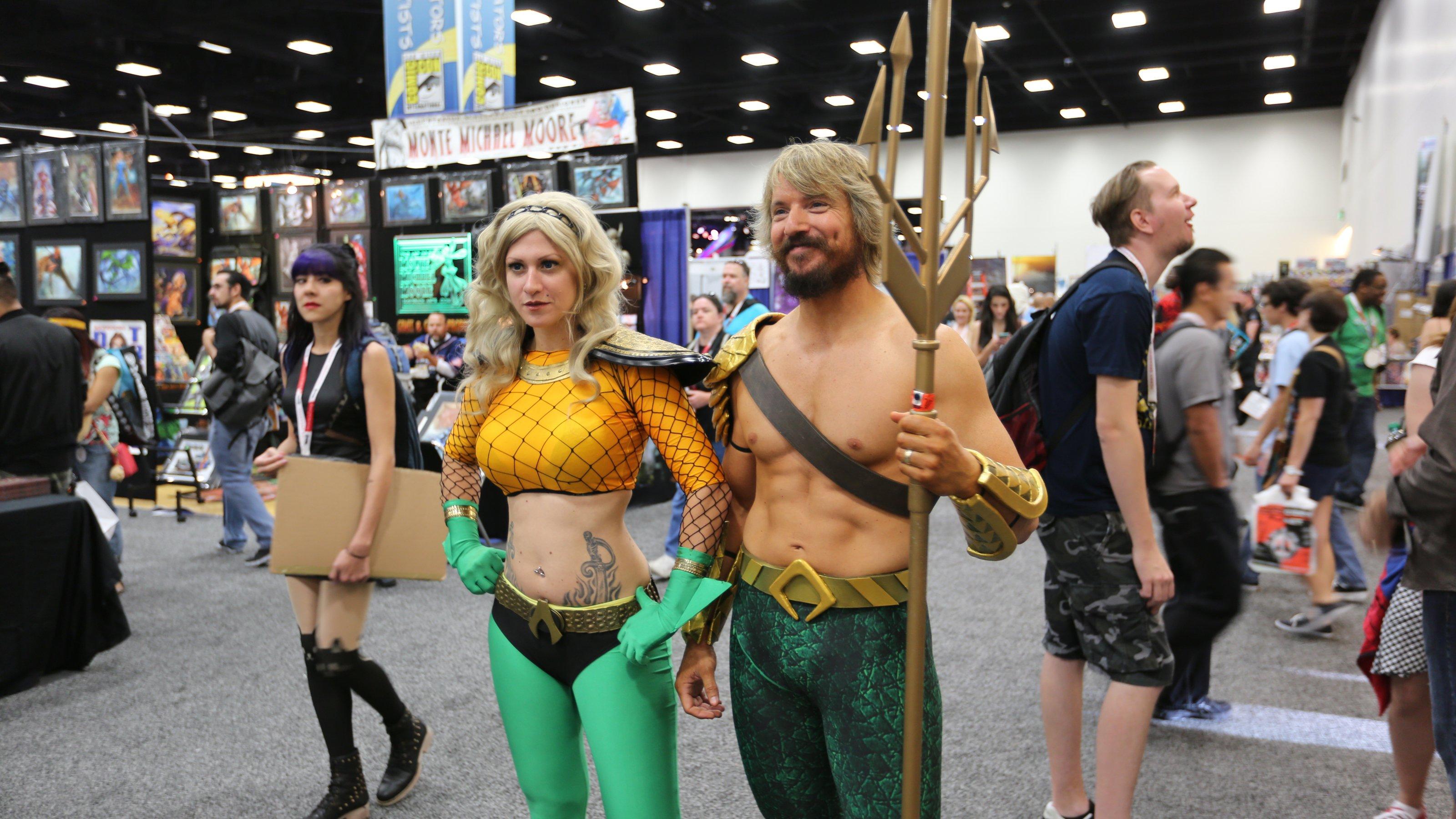 Aquaman e Aquawoman