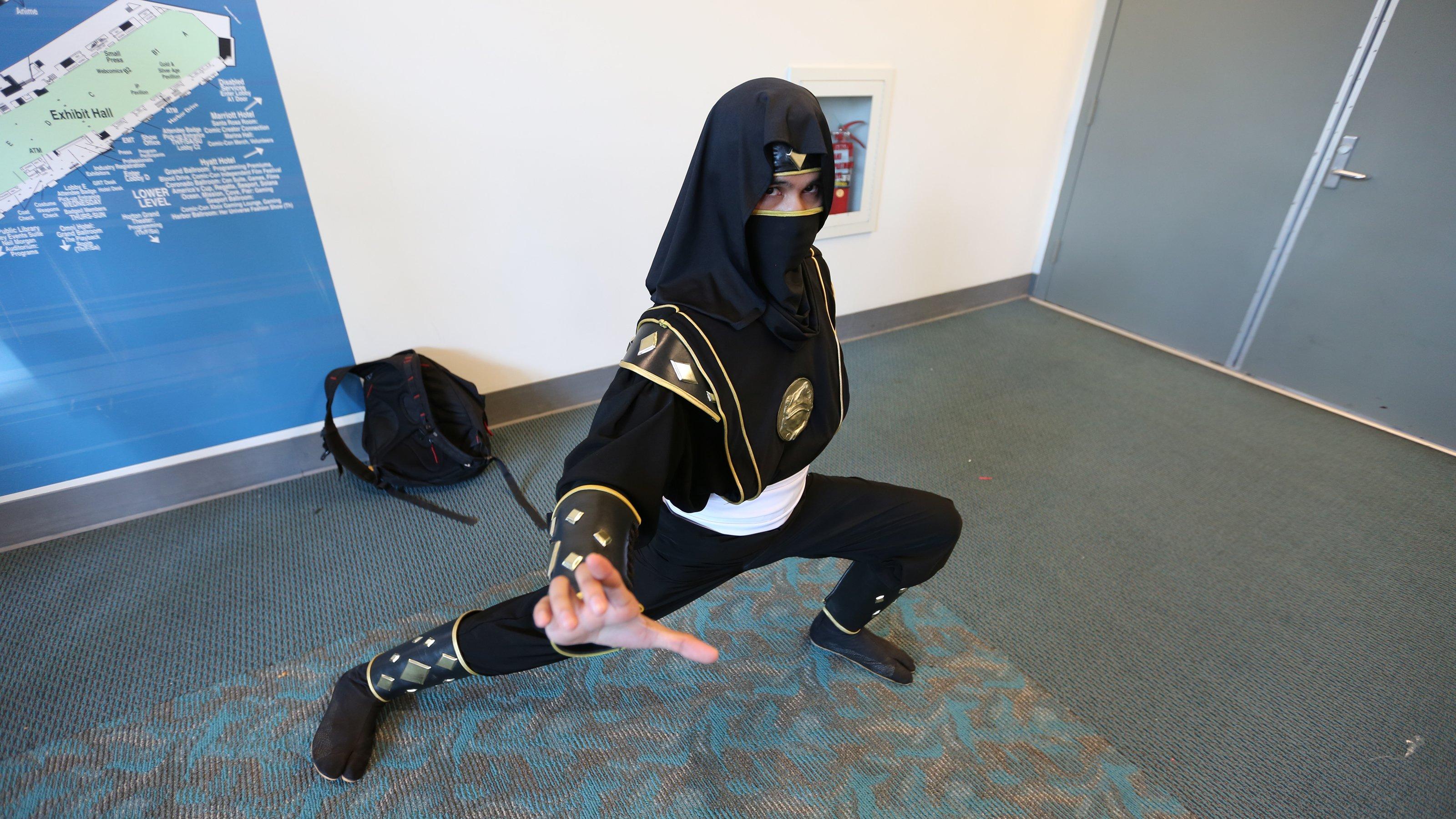 Adam Park (Versão Ninja)