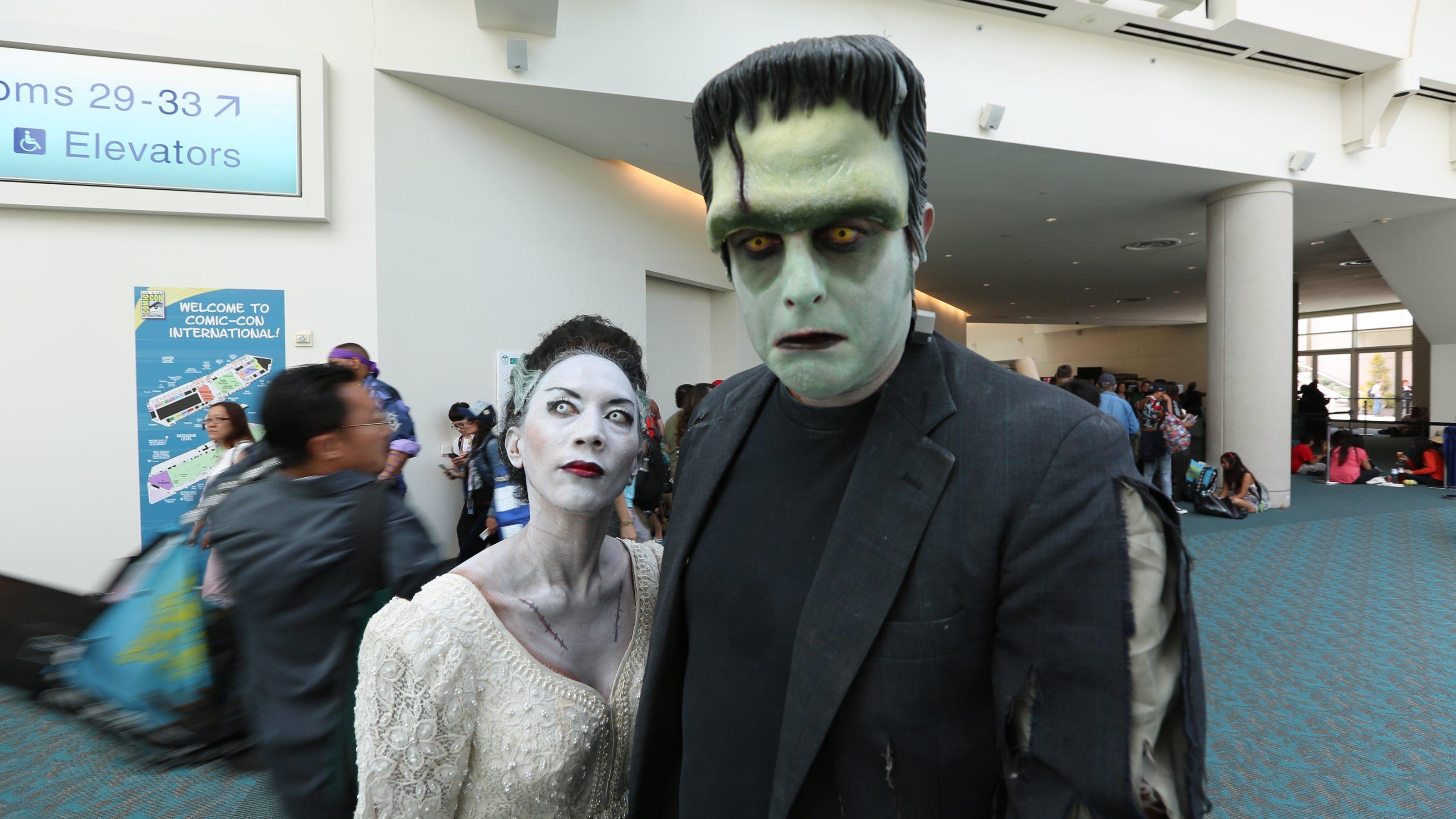 Casal Frankenstein