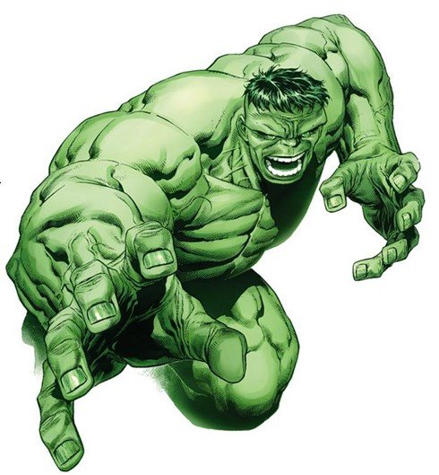 Hulk, por Jim Cheung