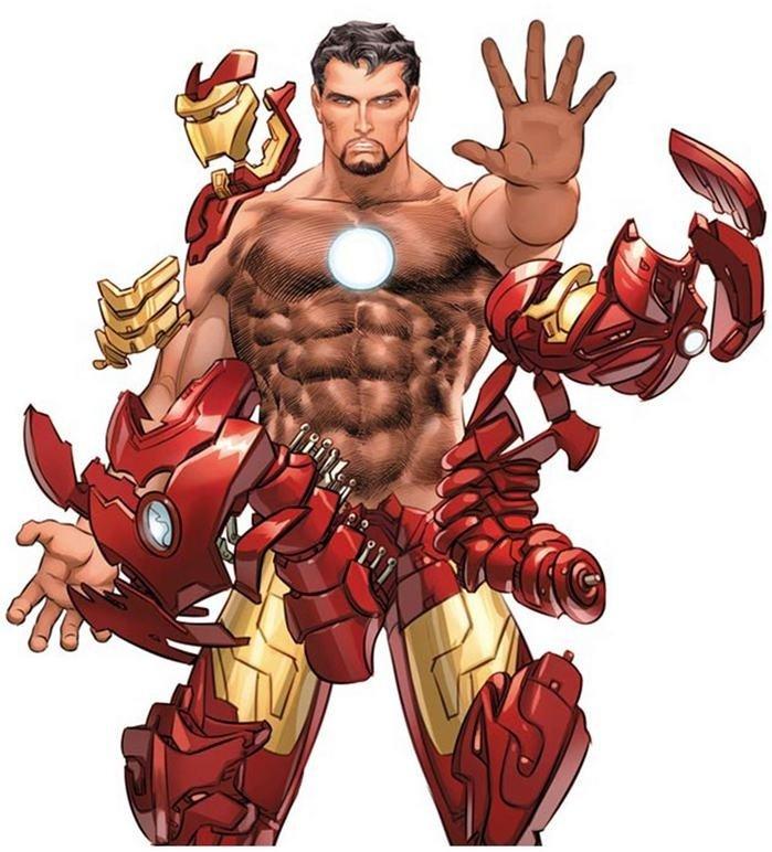 Homem de Ferro, por Mike Deodato