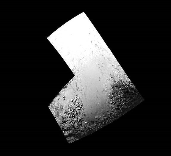 """Novas imagens de Plutão revelam """"planícies geladas e congeladas"""" no planeta"""
