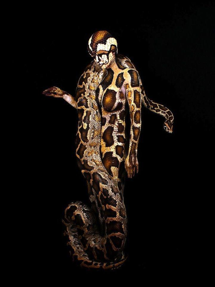 Tela viva: 5 artistas incríveis e suas pinturas corporais