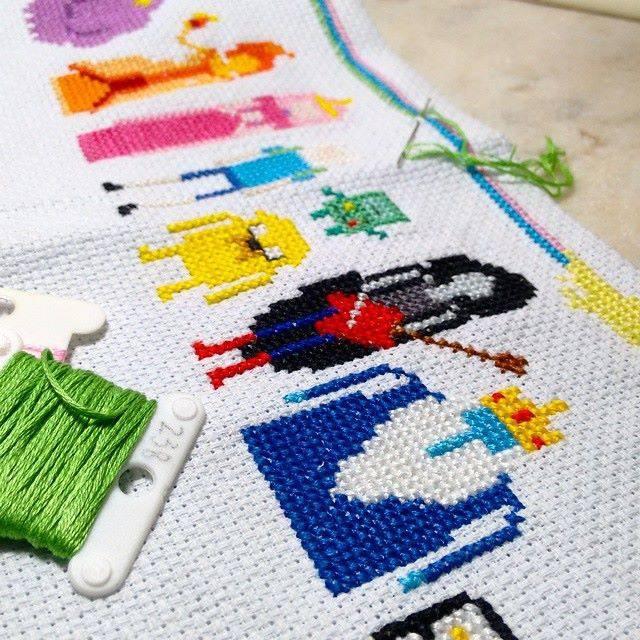 37 fotos para você parar de achar que bordado é coisa para sua avó