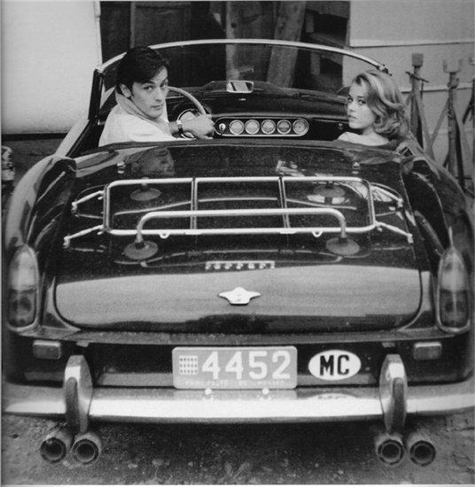 Alain Delon e Jane Fonda
