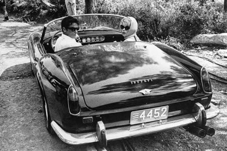 Alain Delon e Shirley MacLaine