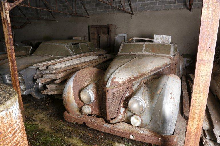 Talbot Lago T26 cabriolet Saoutchik