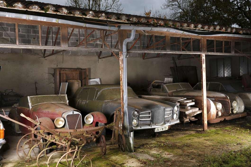 Alguns dos carros da