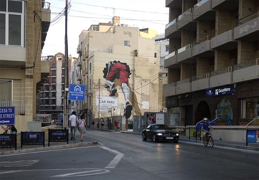 Seria isso um grafite com mais de 480 km de extensão?