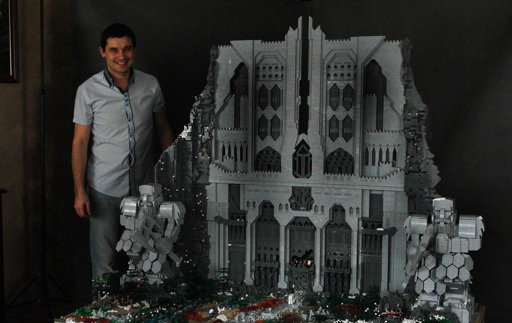 O Hobbit: Veja a incrível versão LEGO dos portões de Erebor [galeria]
