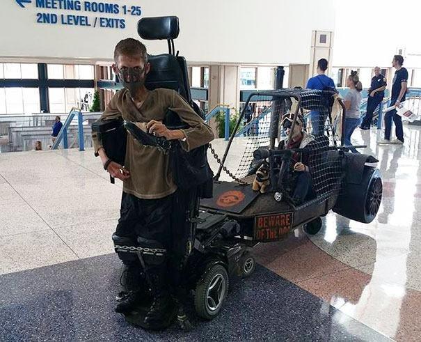 Buggy pode ser acoplada na cadeira de rodas futurista