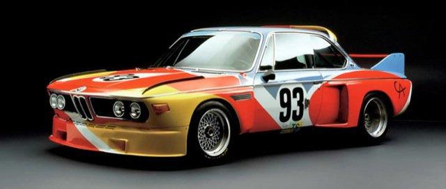 A BMW 3.0 CSL pintada por Hervé Poulain