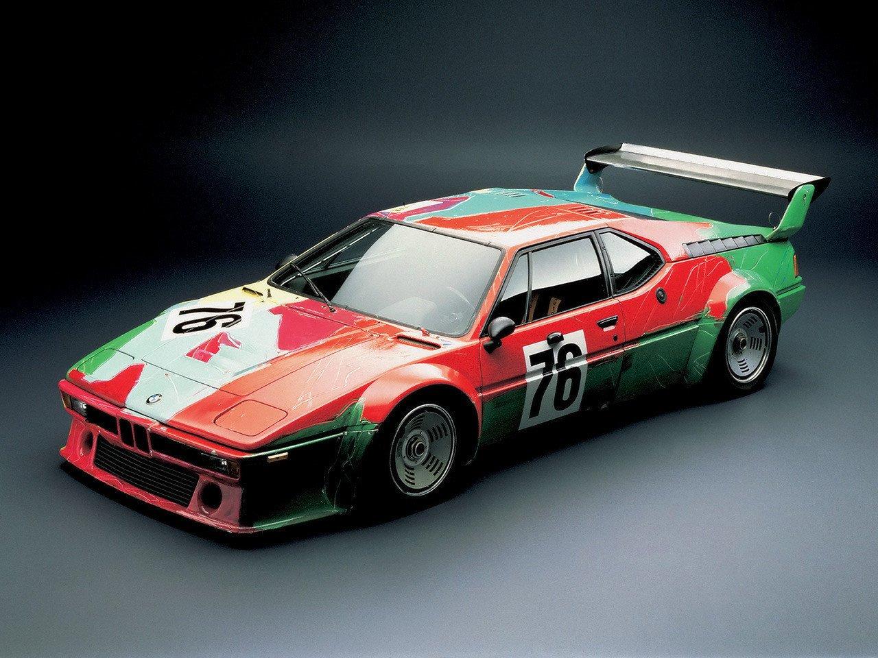O M1 Procar pintado por Andy Warhol