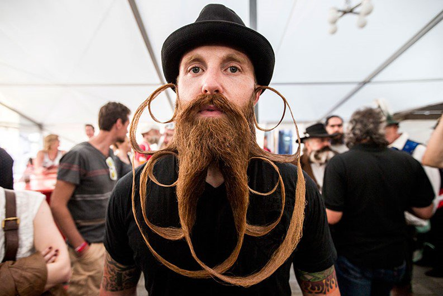 Campeonato Mundial de Barba e Bigode reúne os candidatos mais incríveis