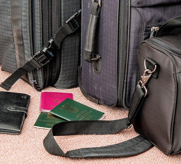 Tudo sobre bagagem de mão e despachada [infográfico]