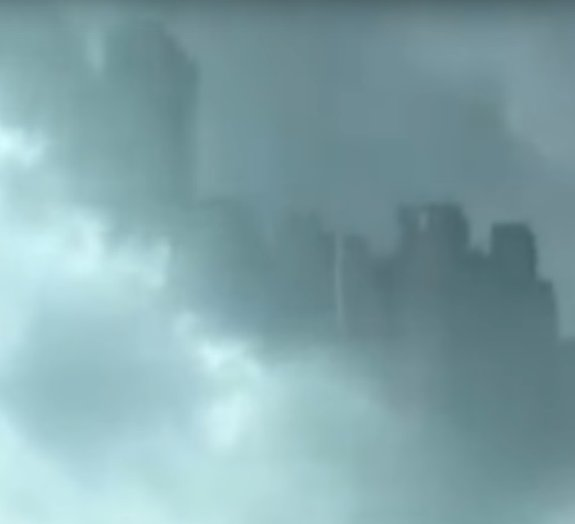 Mistério: aparição de cidade flutuante deixa chineses em choque [vídeo]