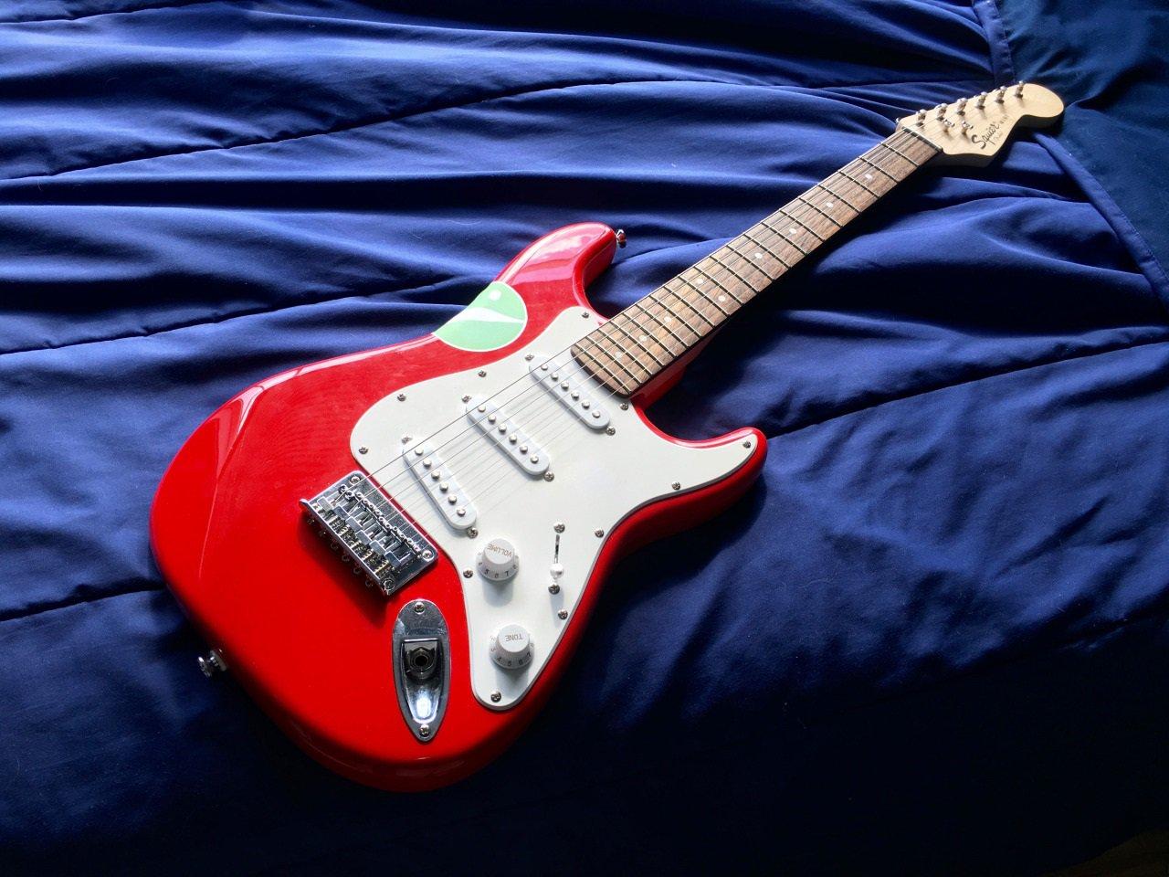 ...a guitarra elétrica...
