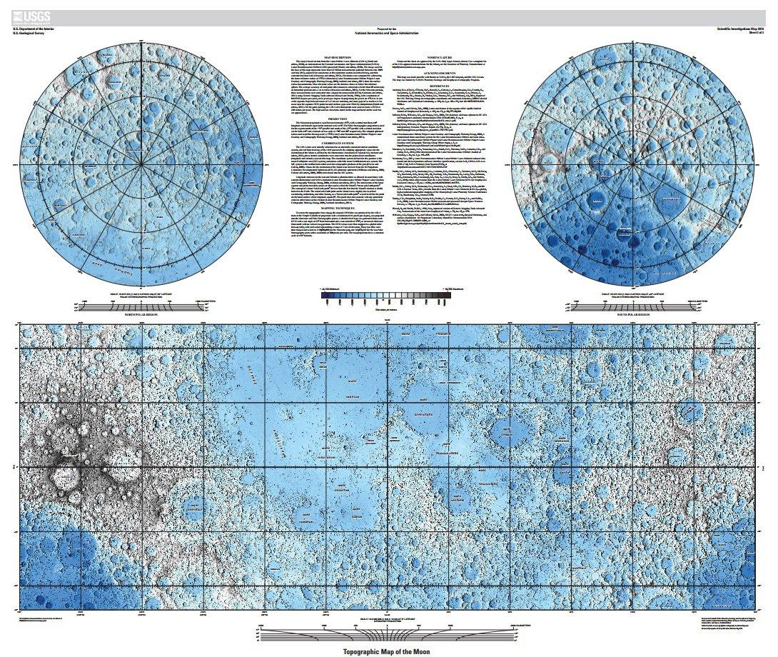 Novas imagens da Lua permitem explorar em detalhes a superfície do satélite
