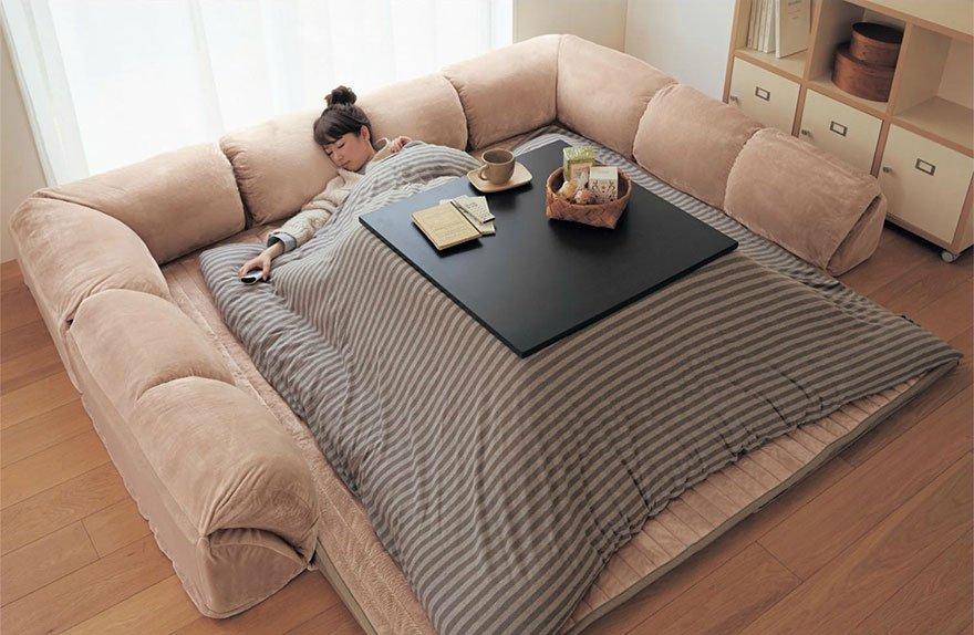 Conheça o kotatsu: o artefato que não vai deixar você levantar