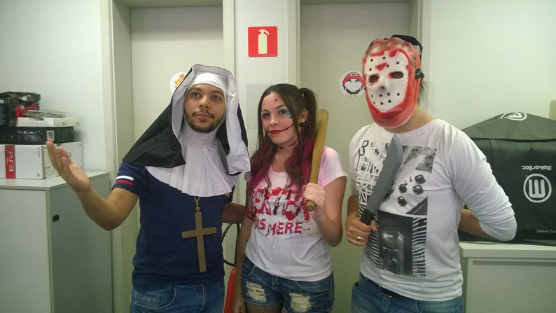 Halloween do Grupo NZN: veja as fantasias da galera!