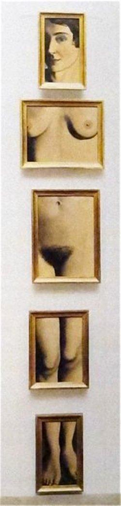 "René Magritte - ""L'evidence éternelle"""