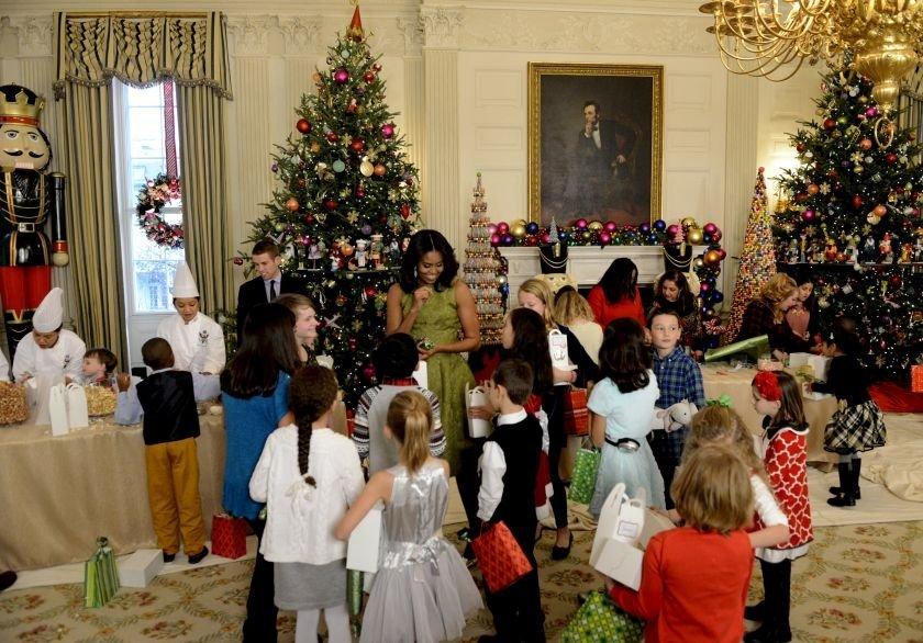 Veja a decoração da Casa Branca para o Natal 2015 [galeria]