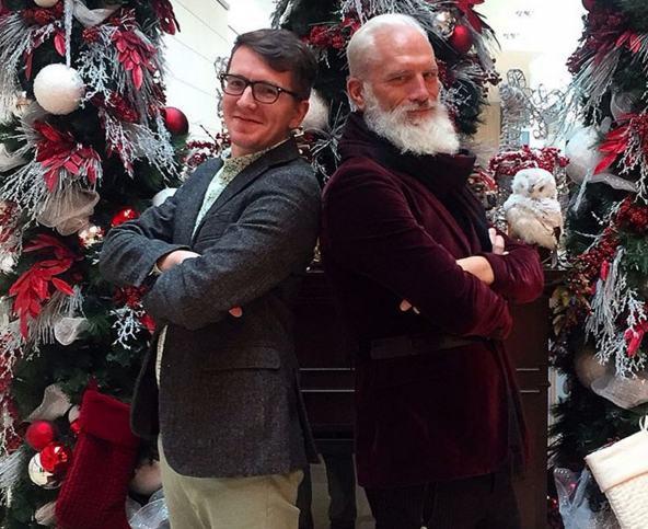 Conheça o Papai Noel mais fashion do mundo inteiro