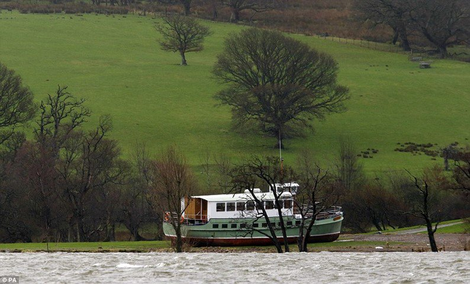 Britânico de 72 anos tem reação incomum ao ver cozinha inundada por chuvas