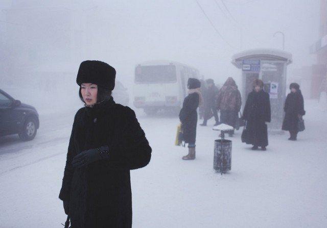 Coisa de russo é viver em um dos vilarejos mais congelantes do planeta