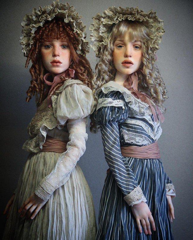 Estas bonecas são tão realistas que chegam a ser assustadoras