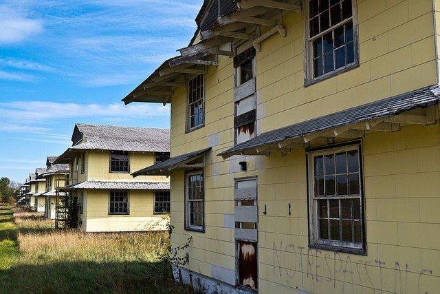 7 campos de treinamento militar abandonados