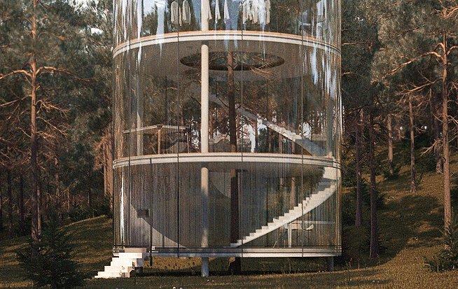 Esta é a 'casa na árvore' mais incrível que você já viu!