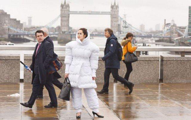 O inverno está chegando e este terno acolchoado é tudo o que você precisa