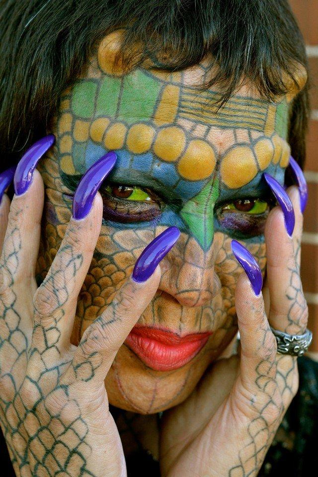 A história da transgênero que tem como principal objetivo ser um dragão