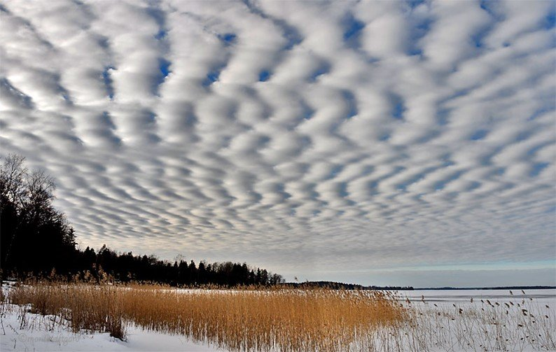 11 formatos muito loucos de nuvens que habitam os céus