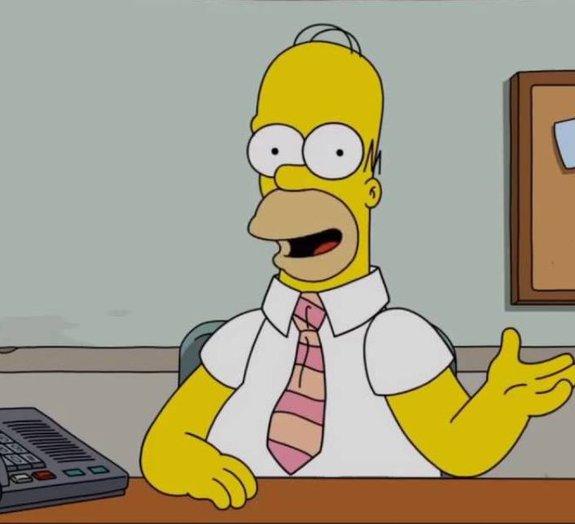 Homer Simpson tira sarro do Brasil em pedido de desculpas por falha ao vivo